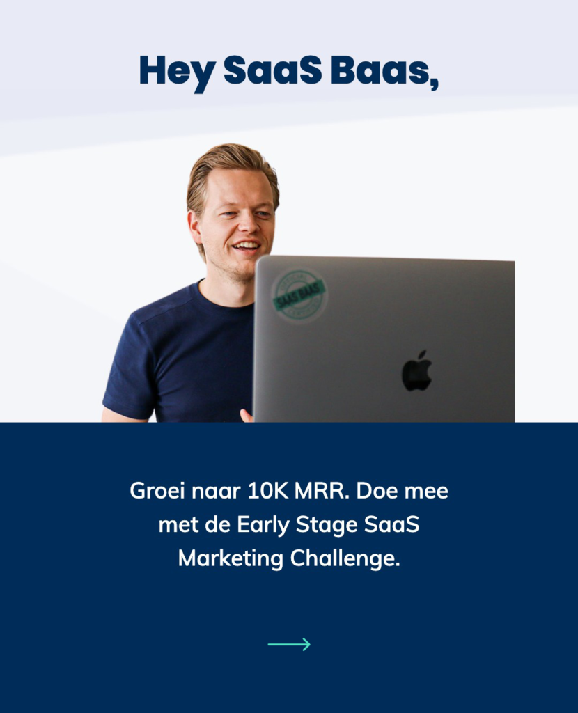 Early-stage SaaS Marketing Challenge