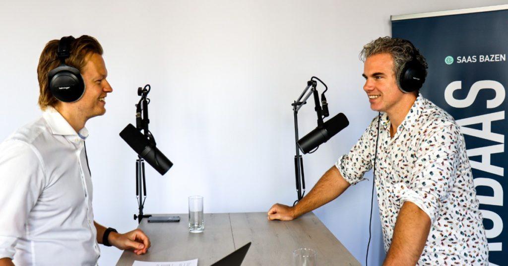 Johan de Wit van Nordhaven en Rick Goud van Zivver - SaaS Bazen