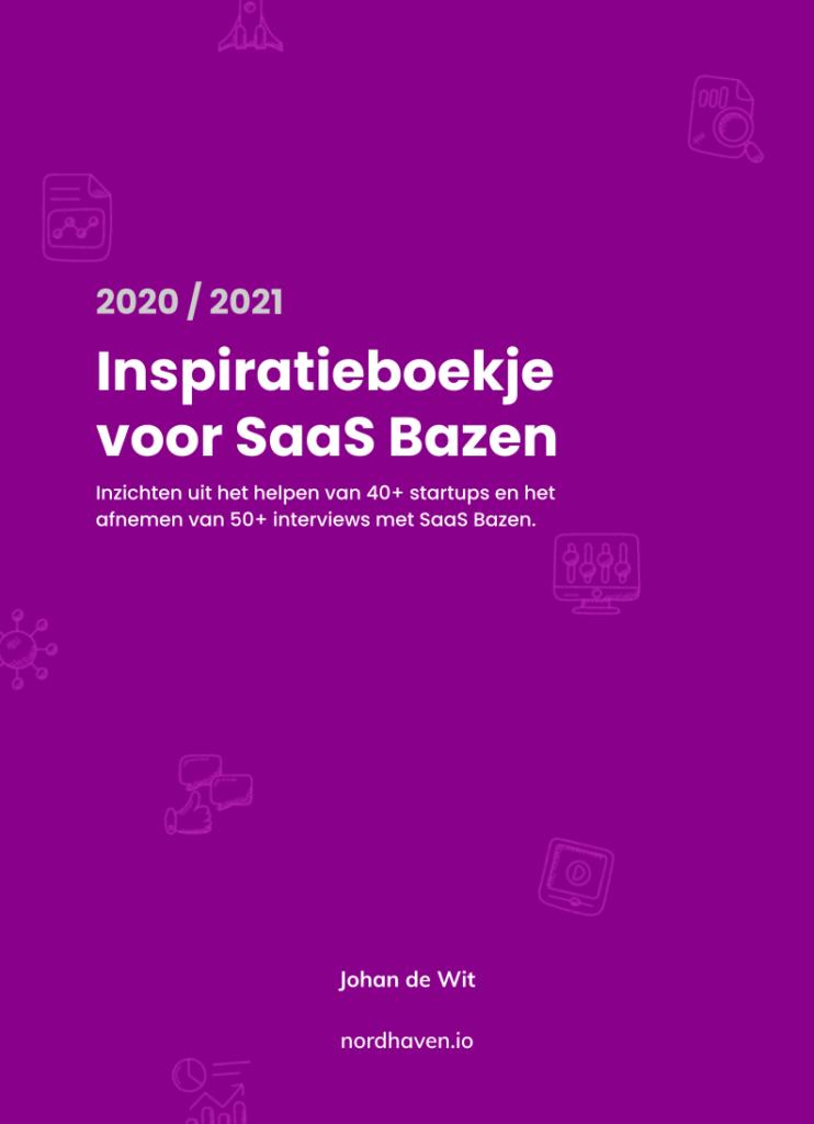 Cover Inspiratieboekje voor SaaS Bazen