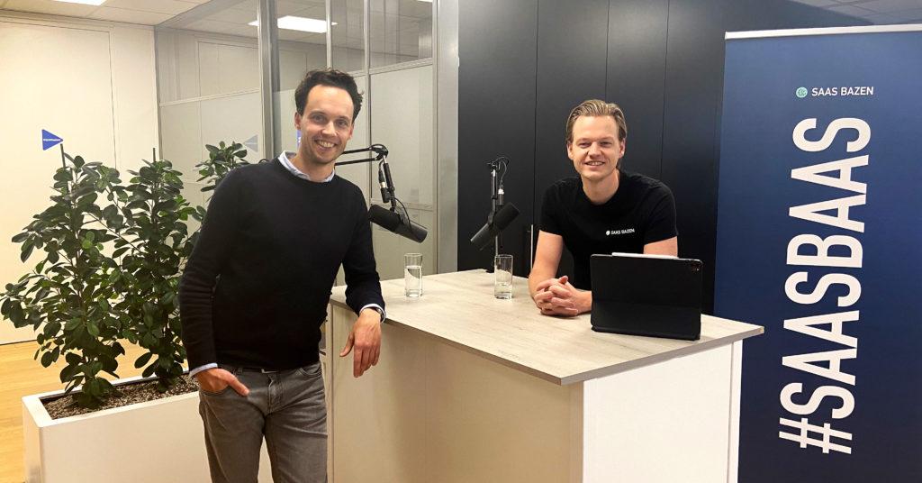 Rob Kroezen Employes en Johan de Wit van SaaS Bazen