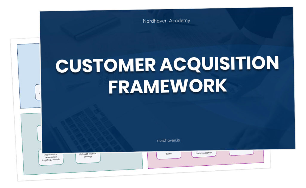 Customer acquisition framework