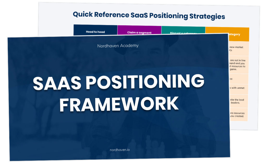 saas positioning framework audit