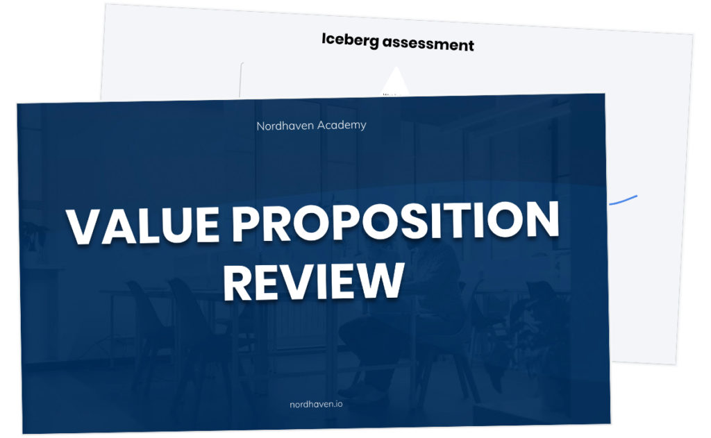 Value proposition review