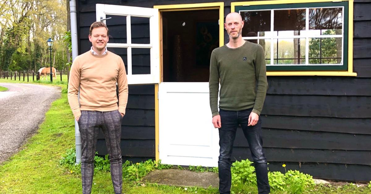 Johan de Wit en Daan Vennix van Versy