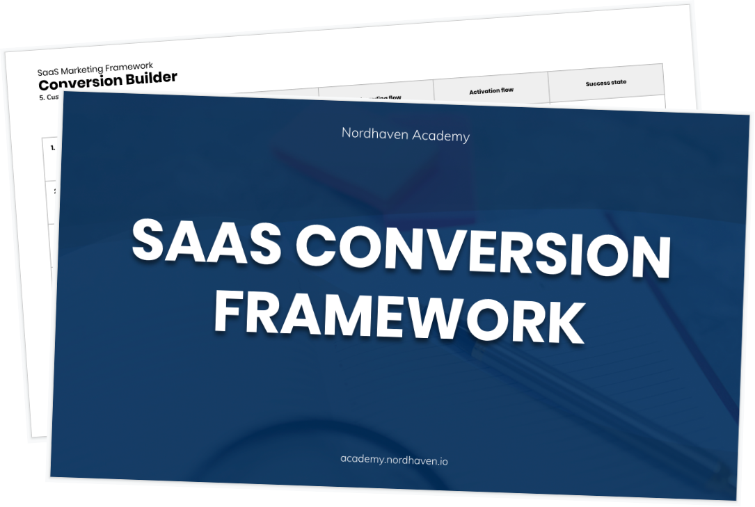 SaaS Conversion Framework