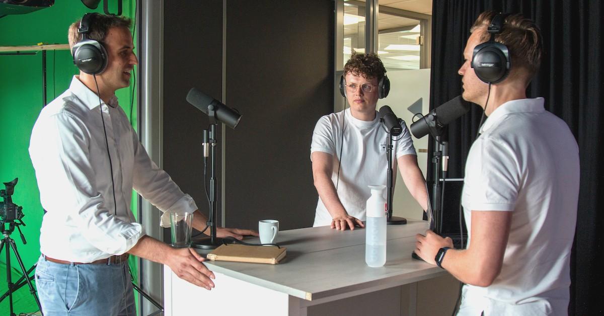 Chainels founders Sander Verseput en Erwin Buckers in de SaaS Bazen Podcast